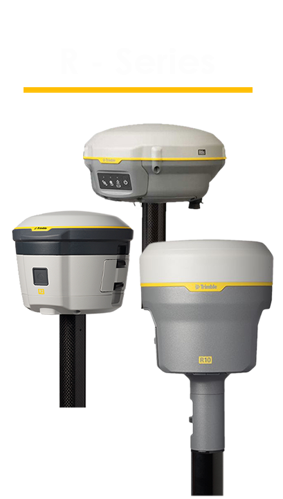 PointMan Features: Compatible with Trimble R-Series