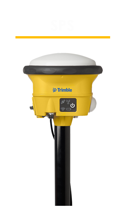 PointMan Features: Compatible with Trimble SPS GNSS Smart Antenna
