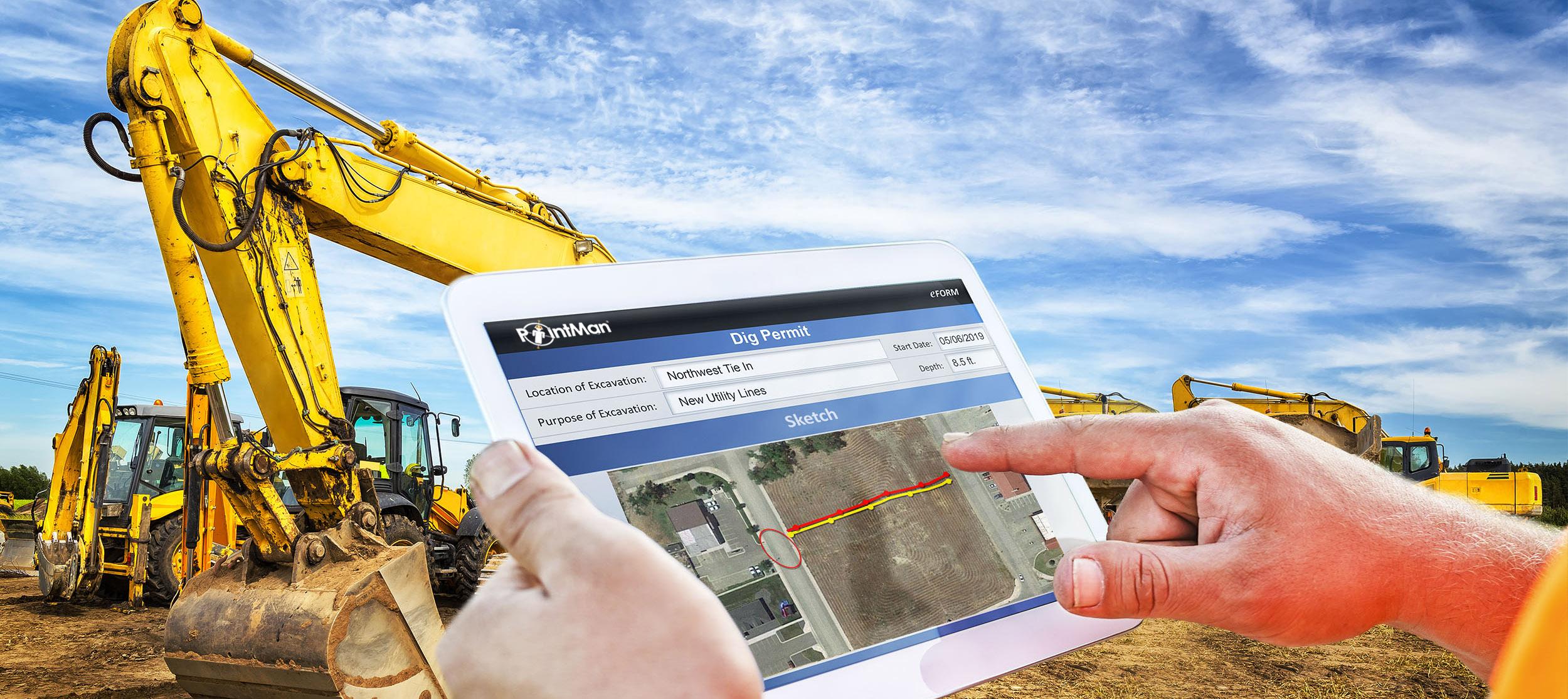 PointMan Enterprise: Dig Permit eForm for Road Construction