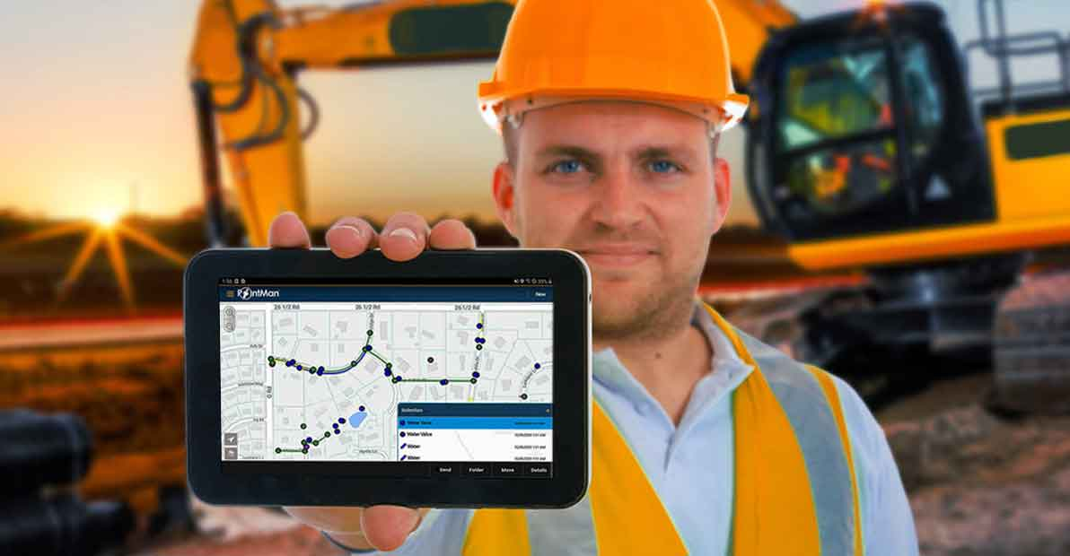 PointMan Precision Mobile Utility Data Collection App Features